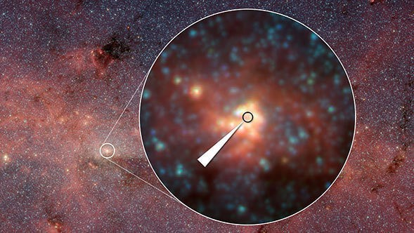 Seeing the Milky Way's Giant Black Hole with New Eyes