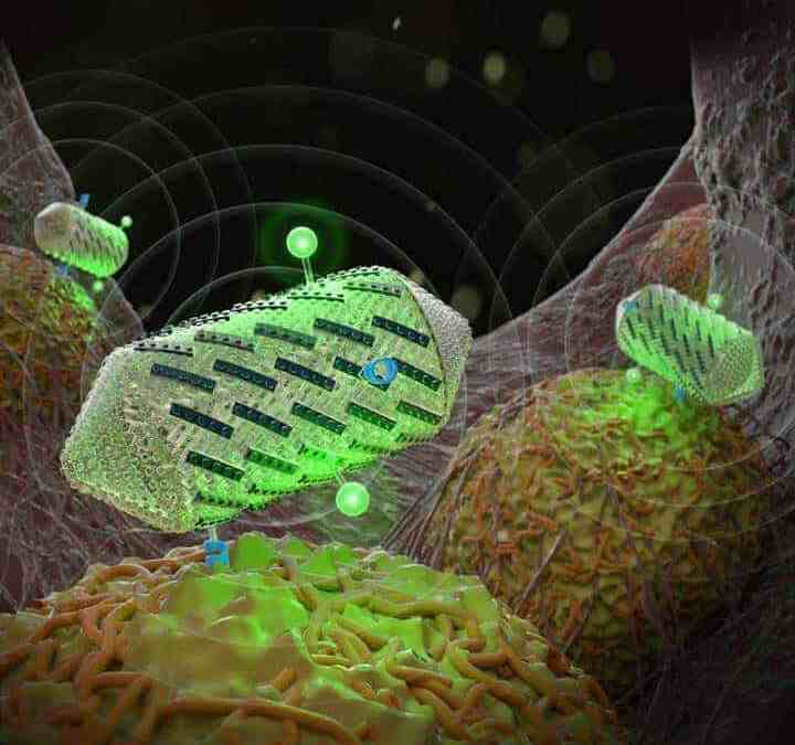 Designing ultrasound tools with Lego-like proteins