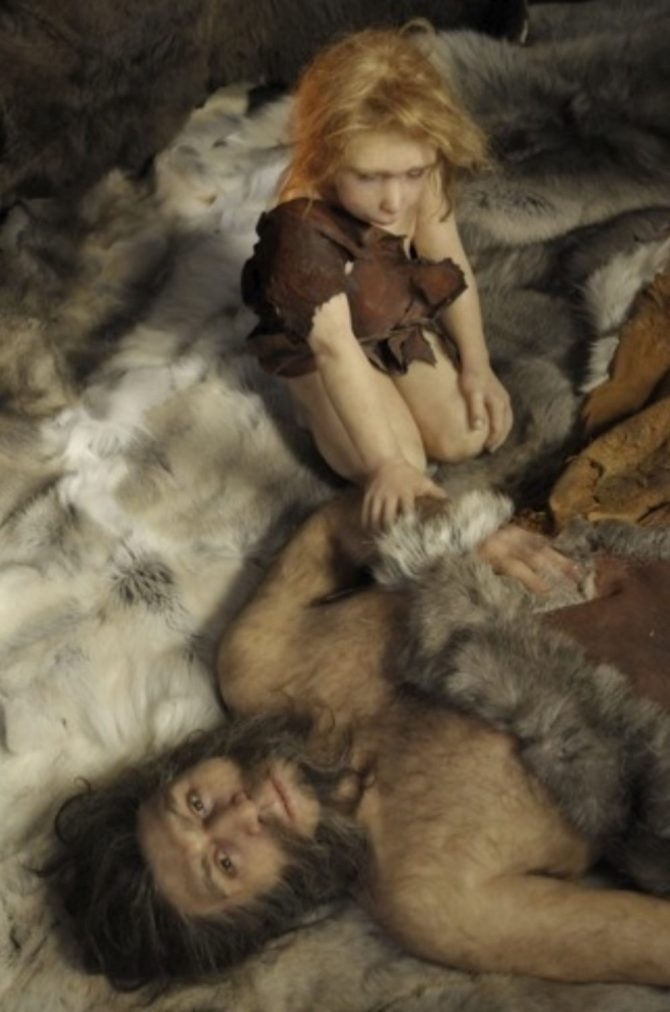 Recreation of Neanderthals