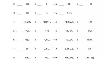 Worksheets Balance Equations Worksheet balancing chemical equations worksheet balance worksheet