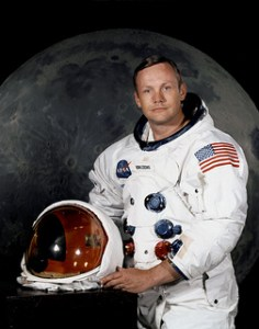 Neil Armstrong... photo credit: NASA's Marshall Space Flight Center via photopin cc