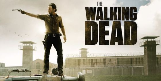 The Walking Dead  s3 logo art wide