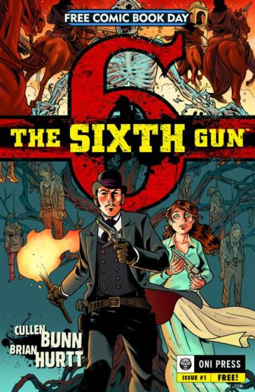 The Sixth Gun comic cover