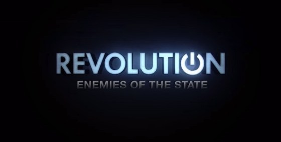 Revolution Enemies of the State logo wide