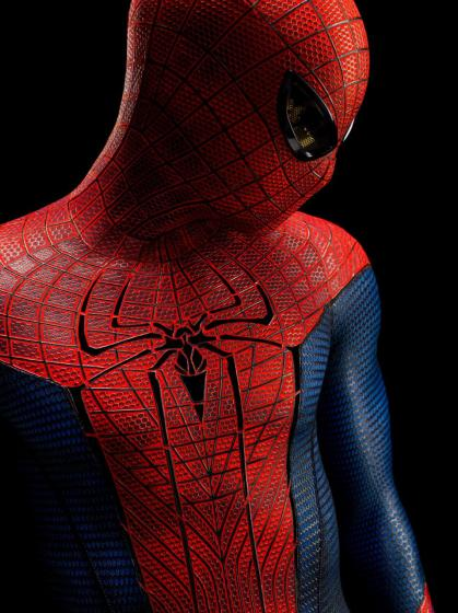 The Amazing Spider-Man closeup
