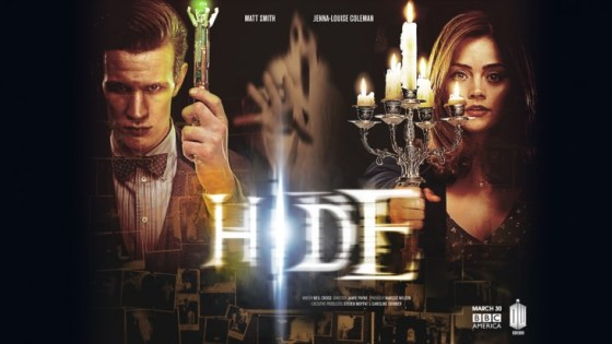 Doctor Who s7 pt2 Hide poster