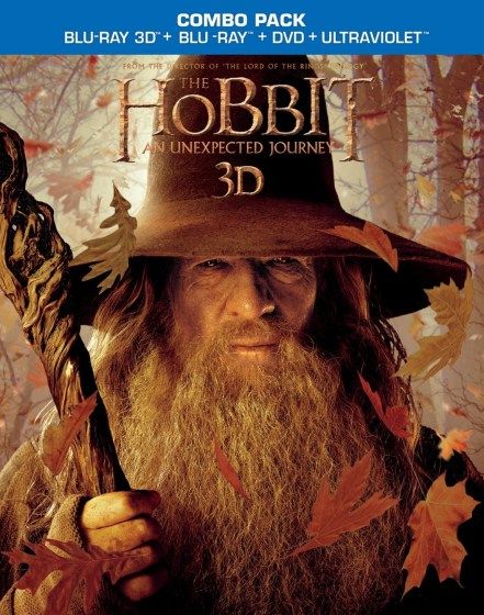 Hobbit AUJ BD DVD combo cover art