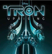 Tron Uprising Soundtrack cover