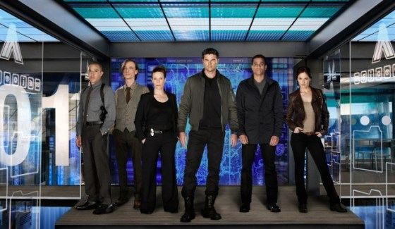 Almost Human cast promo