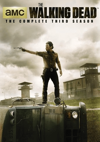 TWD s3 DVD cover