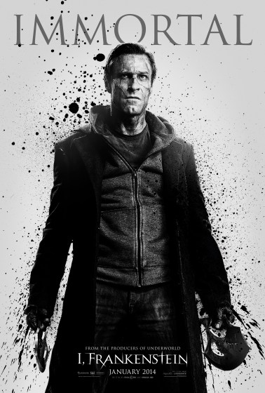 i, frankenstein immortal poster