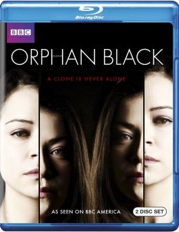Orphan Black Blu-ray cover