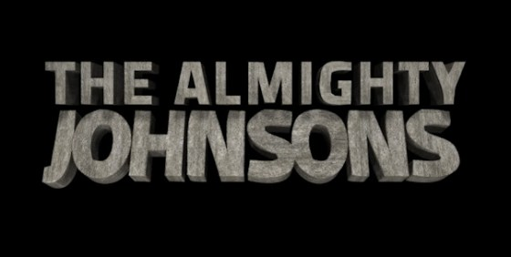 Almighty Johnsons logo wide