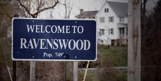 Ravenswood sign wide