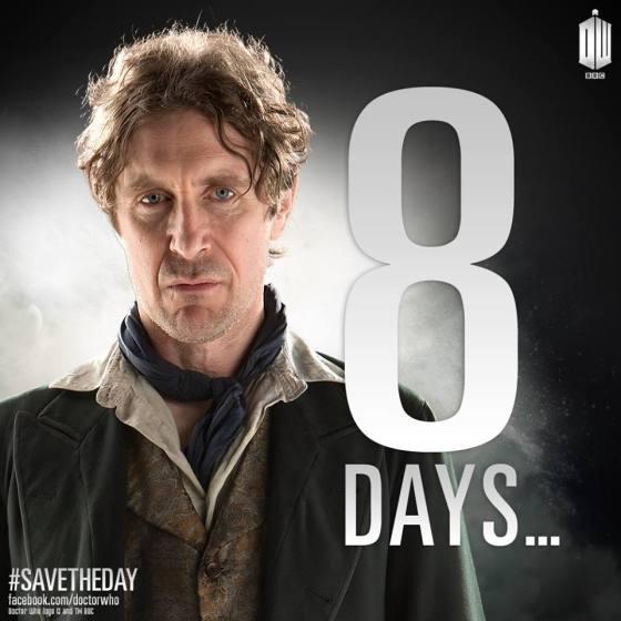 Doctor Who DOTD 8 days