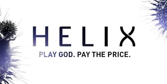Helix logo and tag wide
