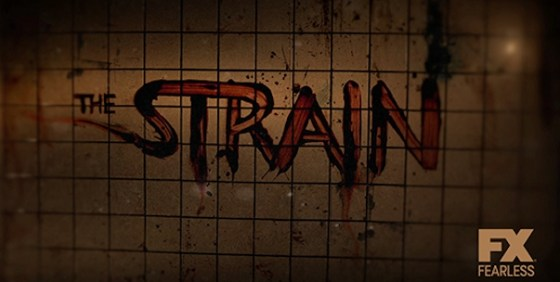 The Strain logo wide