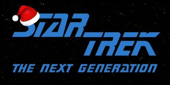 Star Trek TNG logo holidays wide