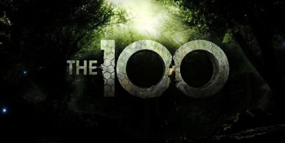 The 100 logo wide