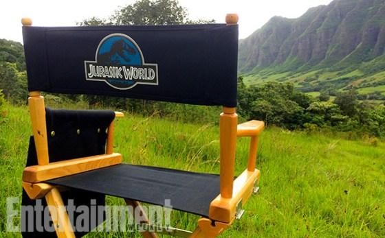 Director-Chair Jurassic World