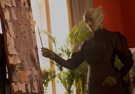 Picture shows: Vastra (Neve McIntosh)