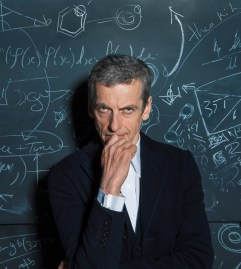 Picture shows: Peter Capaldi as The Doctor