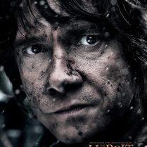 The Hobbit TBOTFA character poster Bilbo