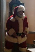 Picture shows: Nick Frost as Santa Claus