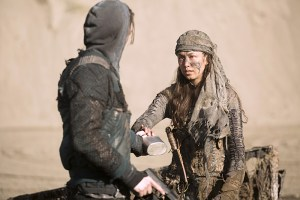 """The 100 -- """"Rubicon"""" -- Image: HU212A_0263 -- Pictured: Luisa D'Oliveira as Emori -- Photo: Katie Yu/The CW -- © 2015 The CW Network, LLC. All Rights Reserved"""