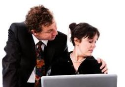 What can I do if I'm being sexually harassed at work?