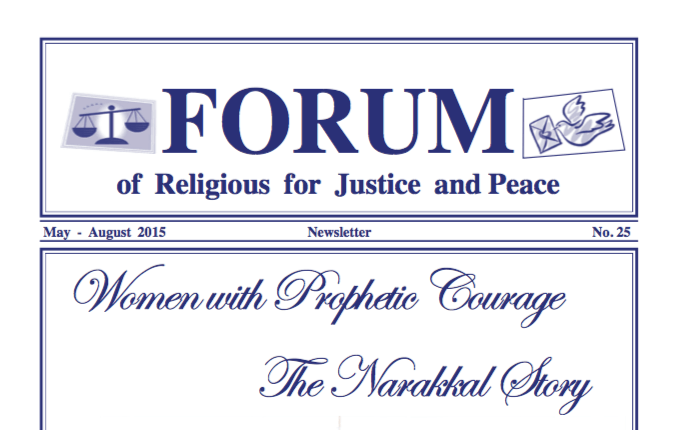 Report from Nepal in Forum for Religious for Justice and Peace