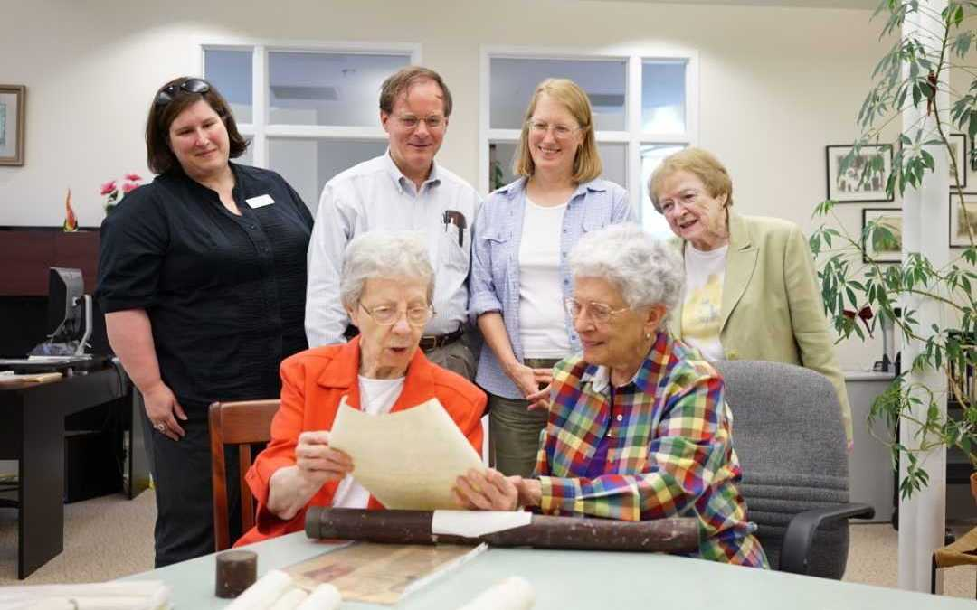 Rare letters and diplomas donated to Nazareth archives