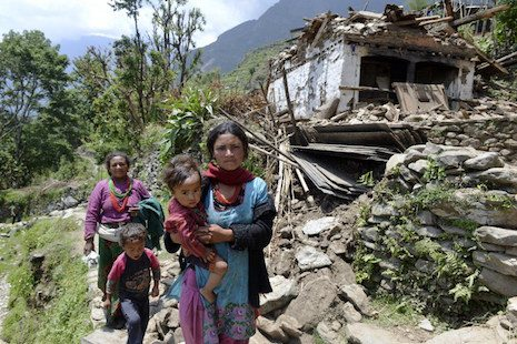 Nepal's unequal disaster aid response