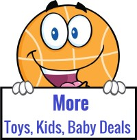 more toys, kids, baby deals