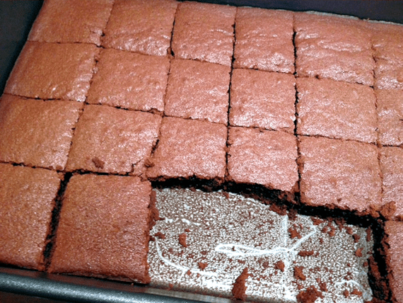 Baxters Beetroot and Chocolate Brownies