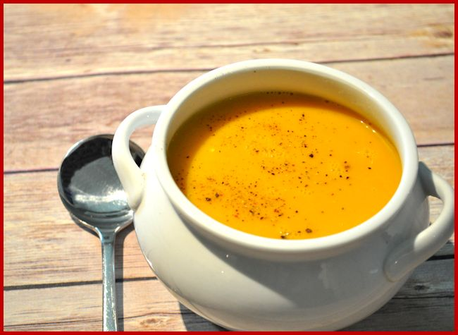 Carrot and Ginger soup 5