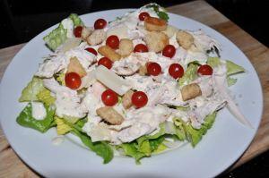 Chicken Caesar Salad Recipe, with Tomberries