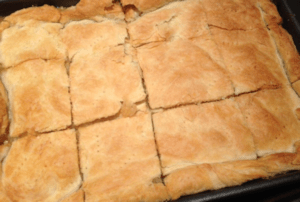 Chicken Pie Cooked
