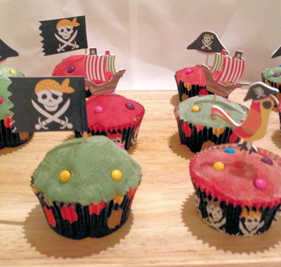 Pirate Cup Cakes