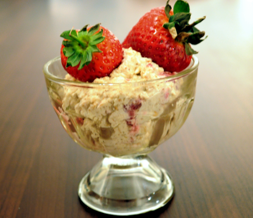 Scottish Strawberry Cranachan (Cream Crowdie)