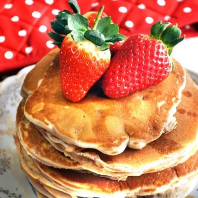Happy Pancake Day 2016:  Strawberry Pancakes