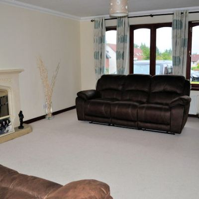 My scabby lounge makeover – before and after.  What this blog paid for.