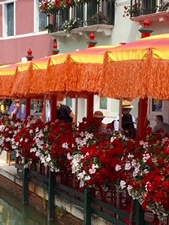 Burano cafe umbrellas 1