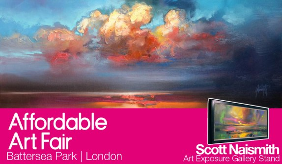 Scott Naismith Showing at London Affordable Art Fair 2013