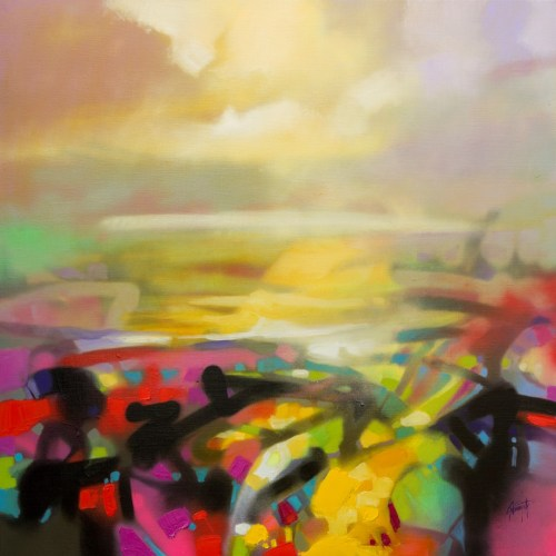 Clarity 1 Abstract landscape painting by Scott Naismith