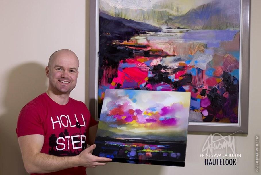 Scott Naismith with icanvas print