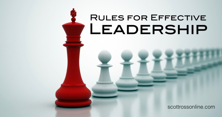 Rules For Effective Leadership.001