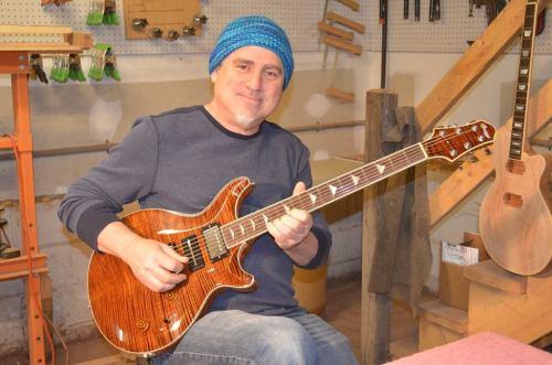 Briggs Guitar artist Scott Sawyer