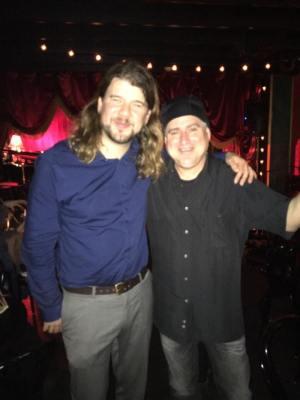 Rick Bugel & Scott at C. Grace Jan 2015