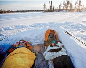 Northern Tier Okpik Program Wind-Break Shelter